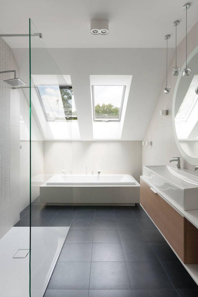 Bathroom Style - Modern Scandinavian