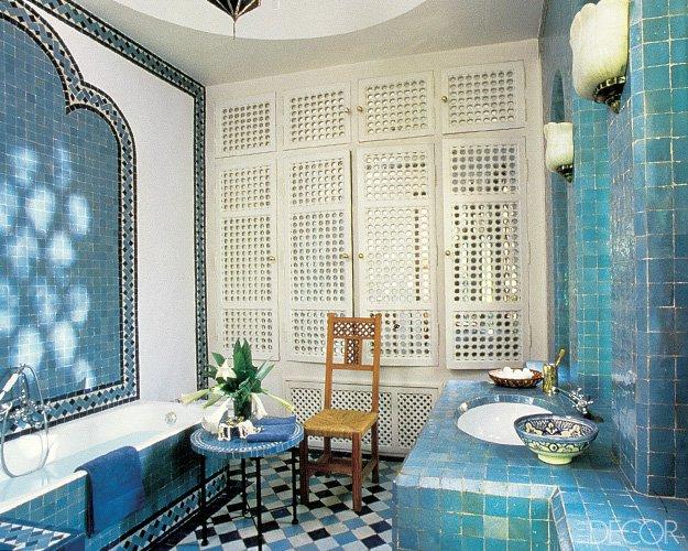 Bathroom Style - Regional, Moroccan