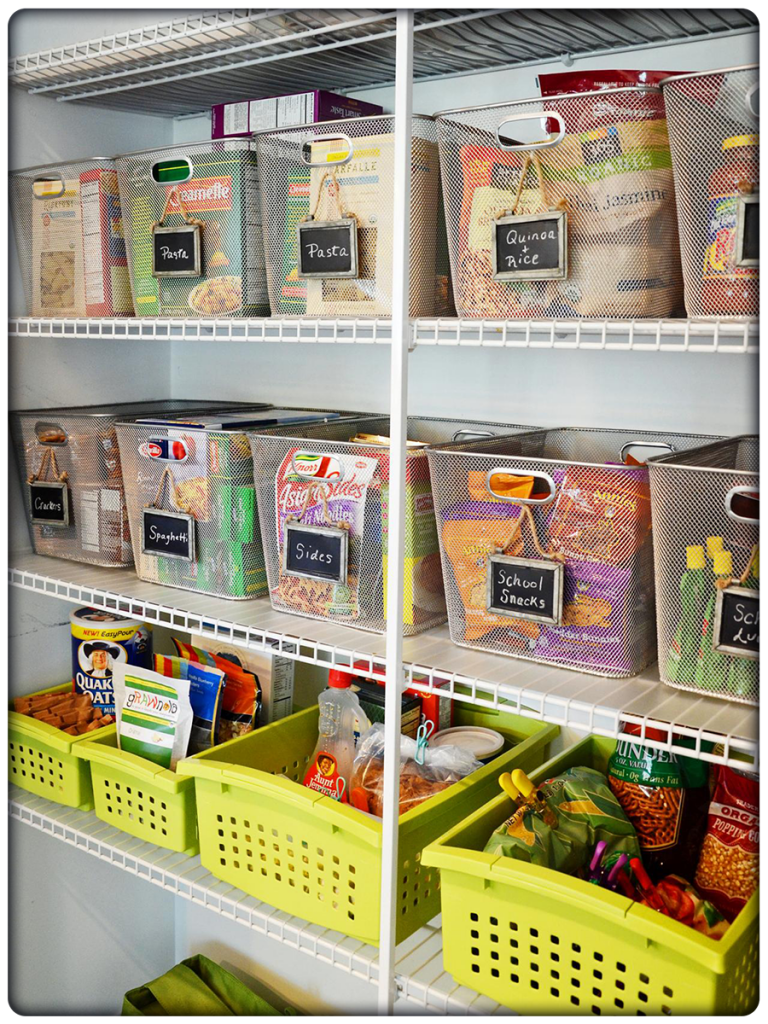 Kitchen Design: Trends & Resolutions for 2016: Pantry Organization