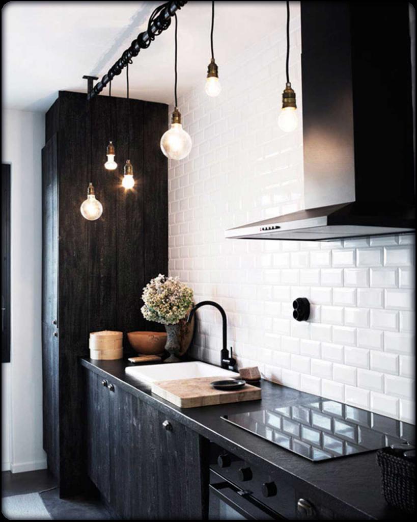 Kitchen Design: Trends & Resolutions for 2016: Black & White