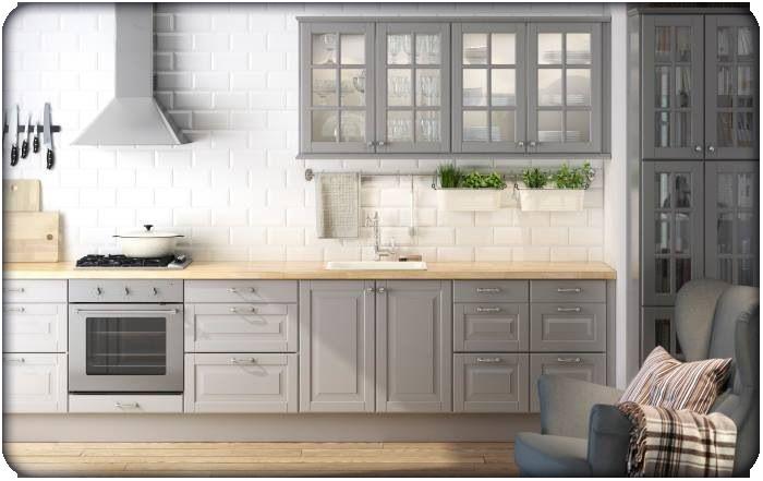 Kitchen Design: Trends & Resolutions for 2016: Grey Kitchen