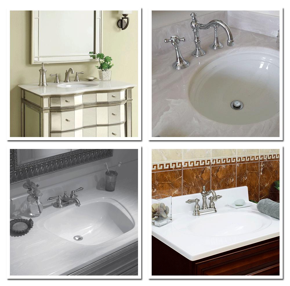 Affordable style cultured marble vanity tops builders - How to clean marble bathroom vanity top ...