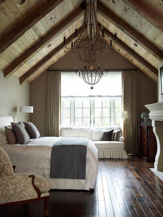 Attic Remodel Bedroom Idea