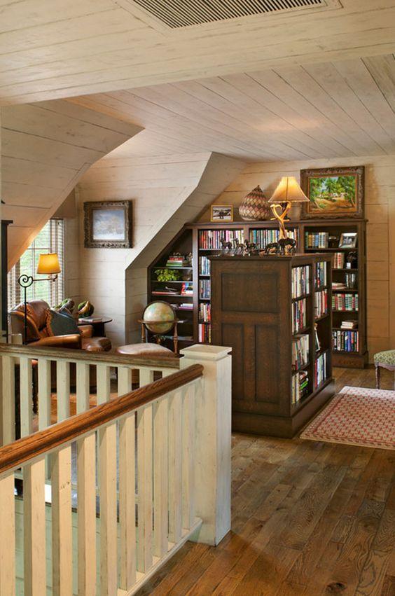 Attic Remodel Idea Library