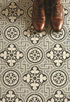 Tile Floor Remodel