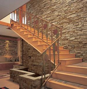 Ledge Stone Feature Wall