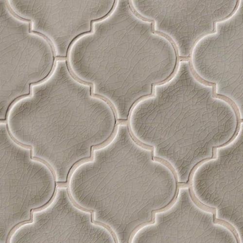 highland park collection dove gray arabesque mosaic tile u2022 builders surplus