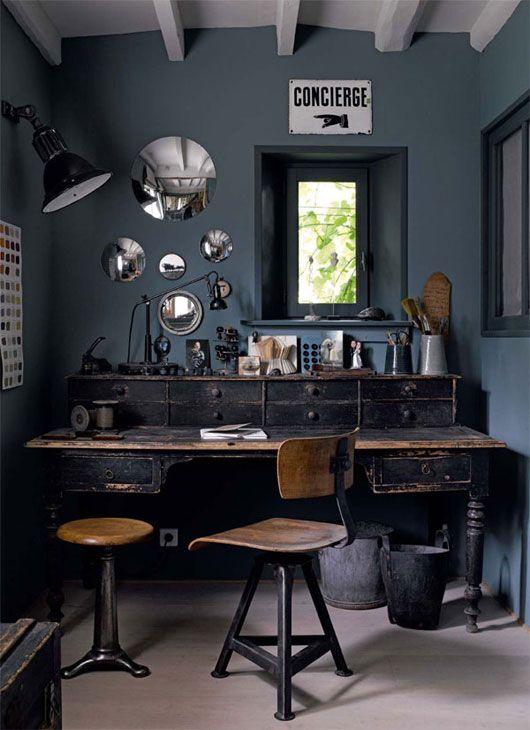 Bachelor Pad Industrial Desk
