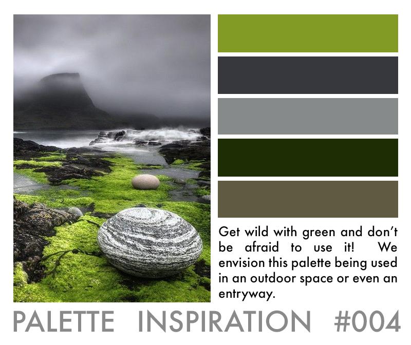 Color Palette Inspiration Green Grey Brown