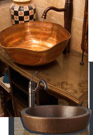 Builders Surplus Copper Sinks