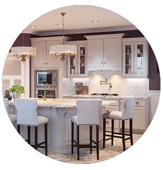 Ginger Creek Kitchen Cabinets