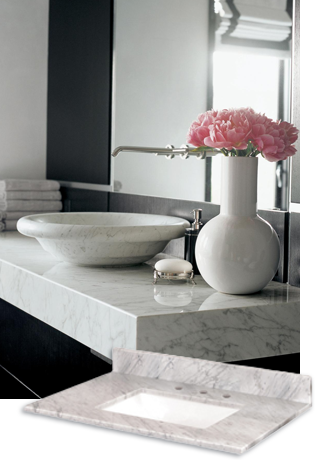 Builders Surplus Quartz Bathroom Vanity Tops