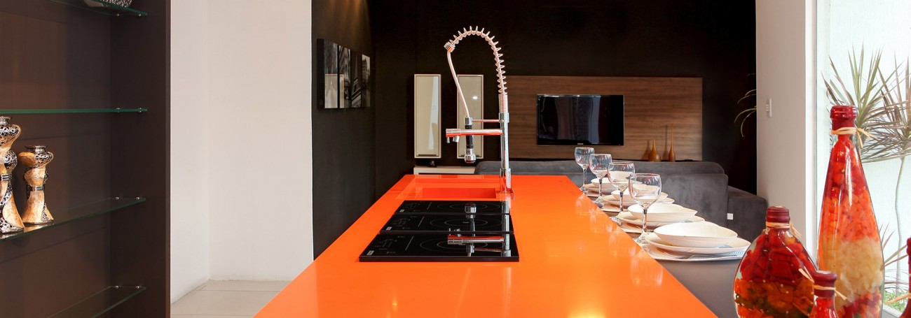 Silestone: Orange Cool