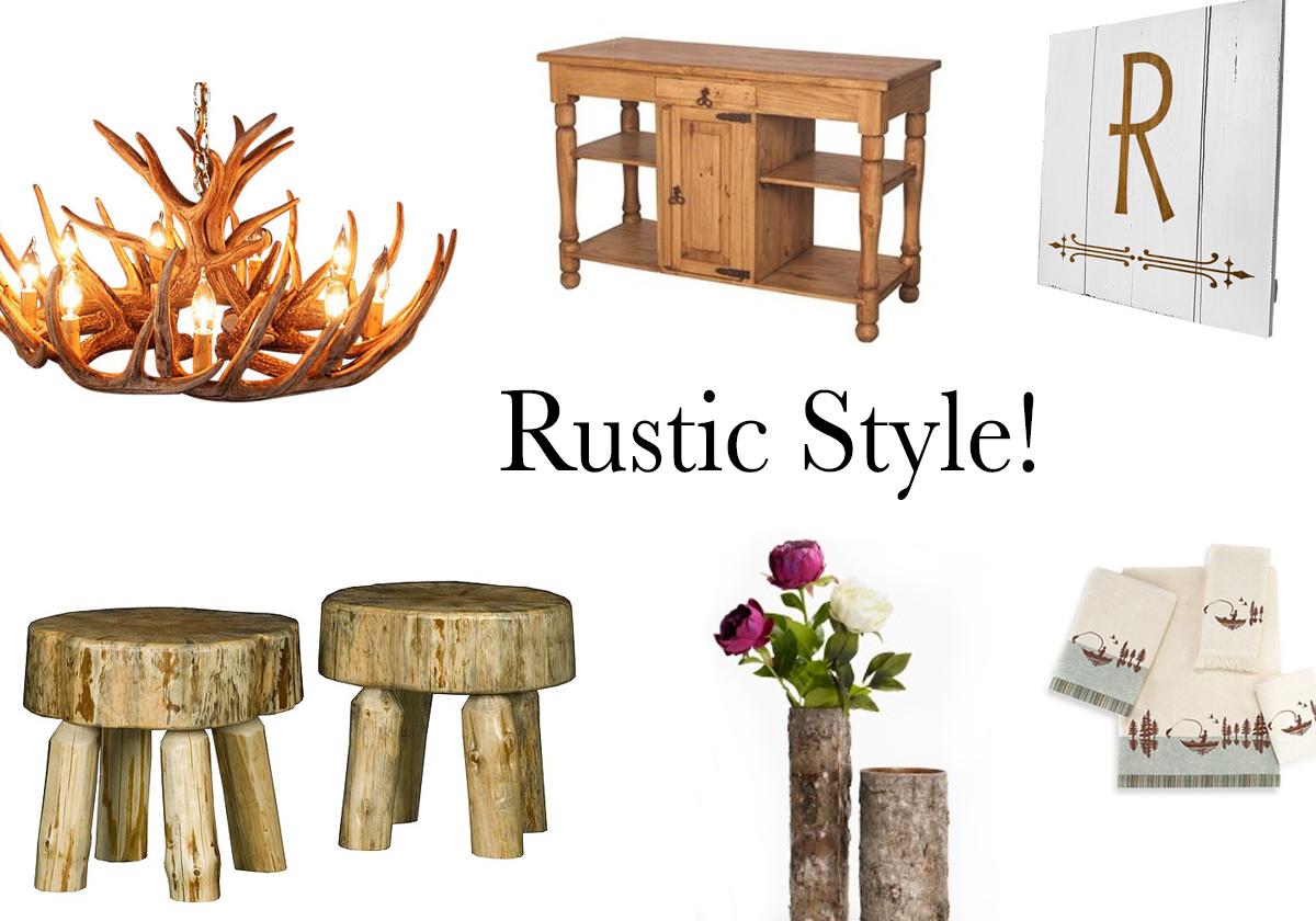 Rustic Design Style, Rustic Decor