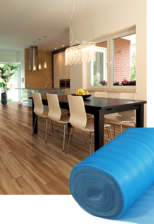 Flooring Underlayment - Flooring Installation Supplies