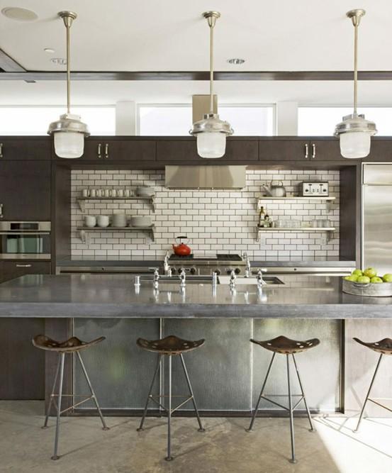 industrial style, industrial design kitchen-