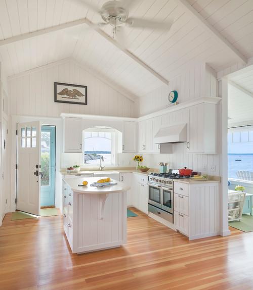 Coastal Kitchen: Beadboard Kitchen