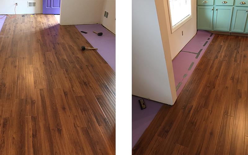DIY Flooring installation step 4-2