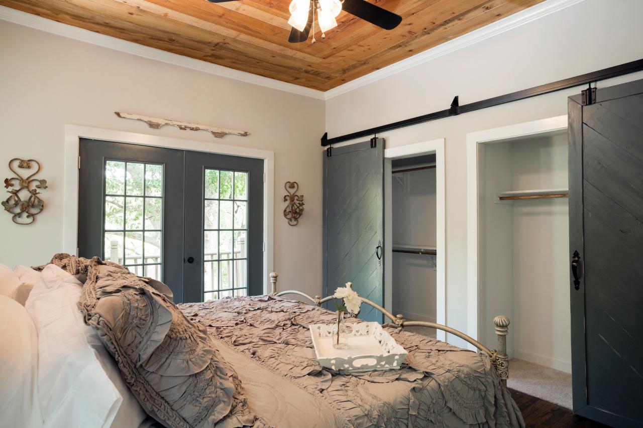Fixer upper style sliding barn doors