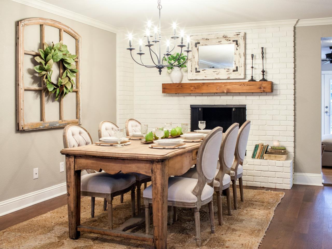 Fixer Upper Style Fireplace