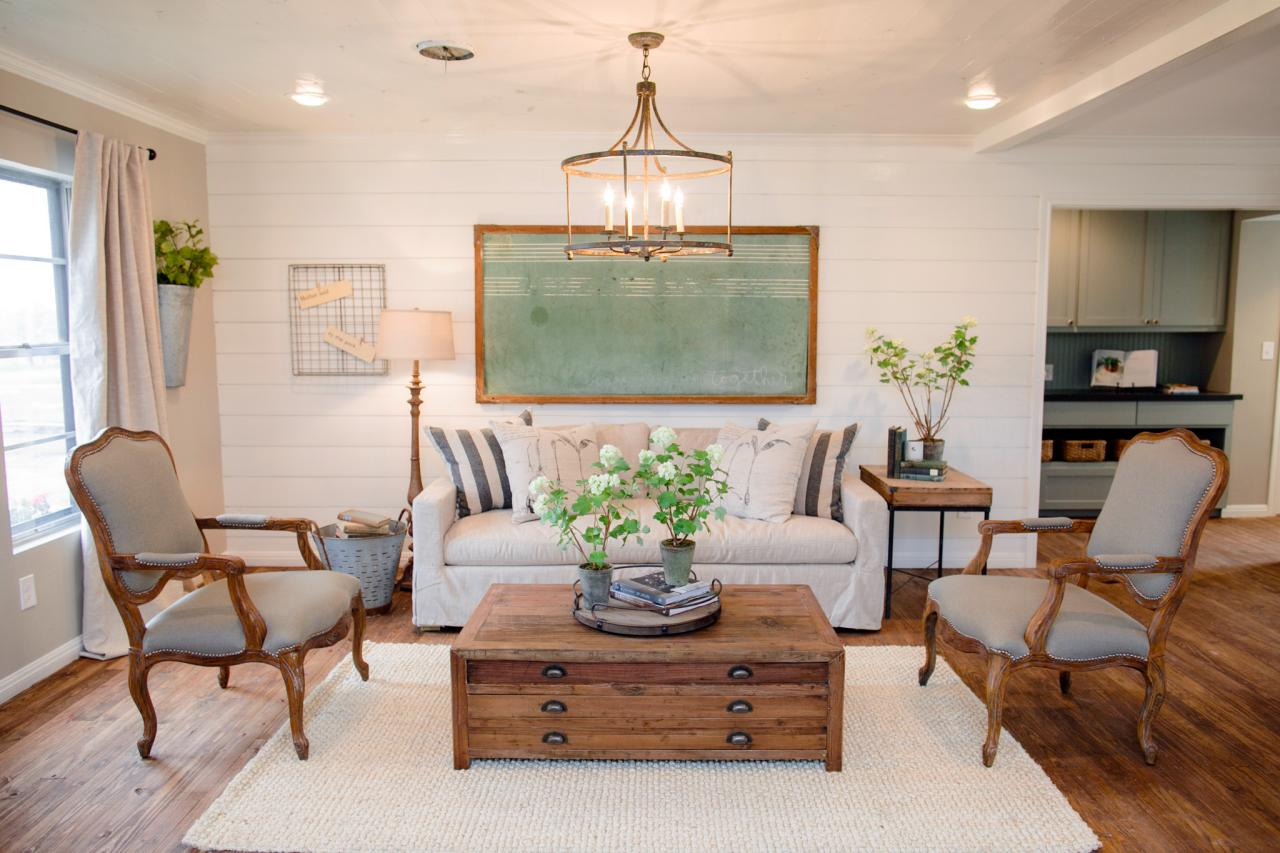 fixer upper style furniture