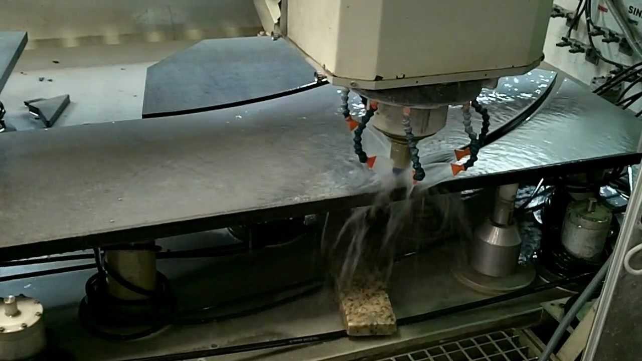 Computerized granite cutting