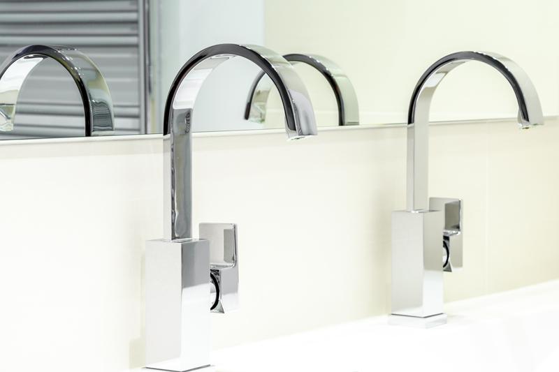 bathroom design trends - faucets