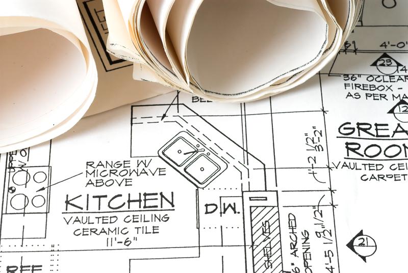 DIY kitchen remodel plan
