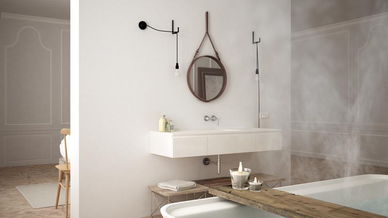 scandinavian-bathroom design trends