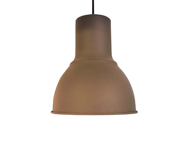 Brown Copper Ceiling Lamp isolated on white