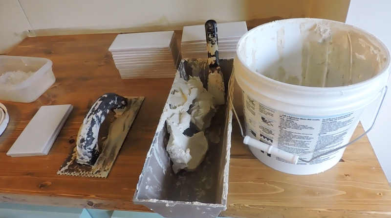 Materials for subway tile backsplash