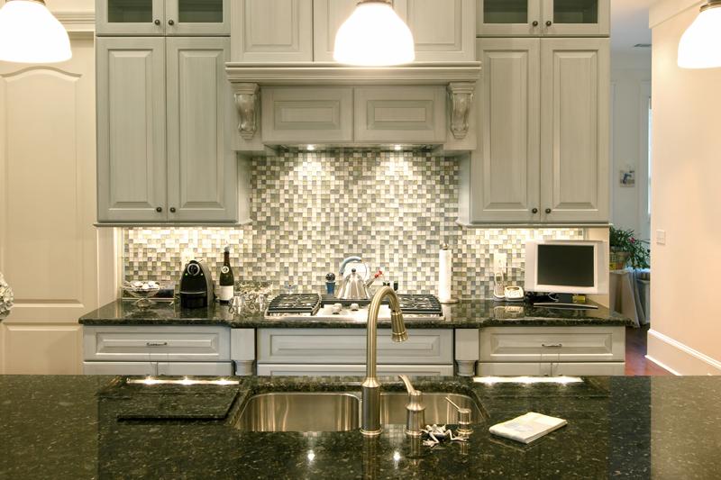 1x1-mosaic backsplash tile