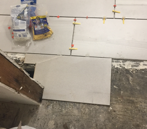 Tips for laying floor tile