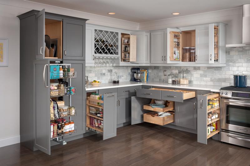 Organization 2017 kitchen design trends