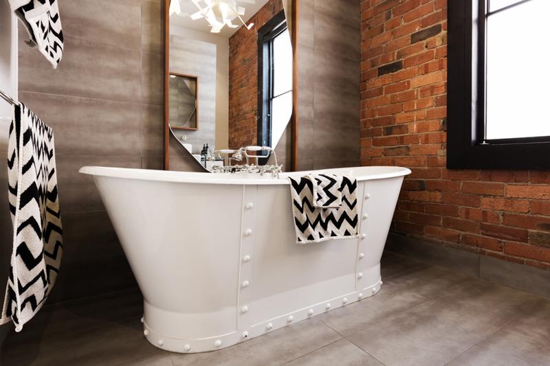 brick-tile old bathroom remodel