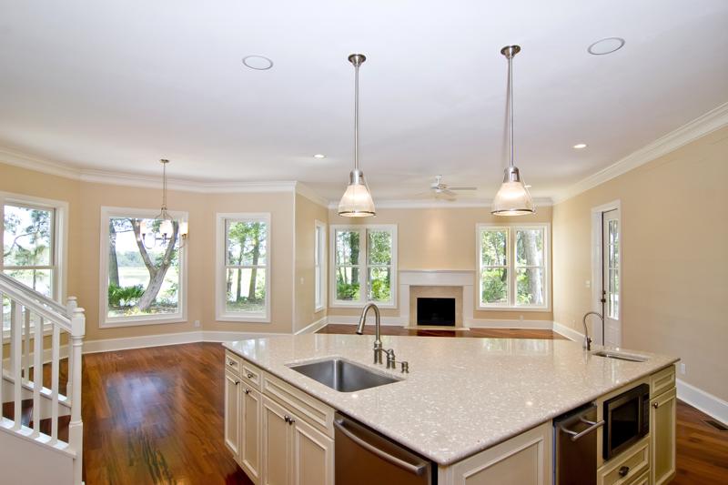 large-island 2017 kitchen design trends