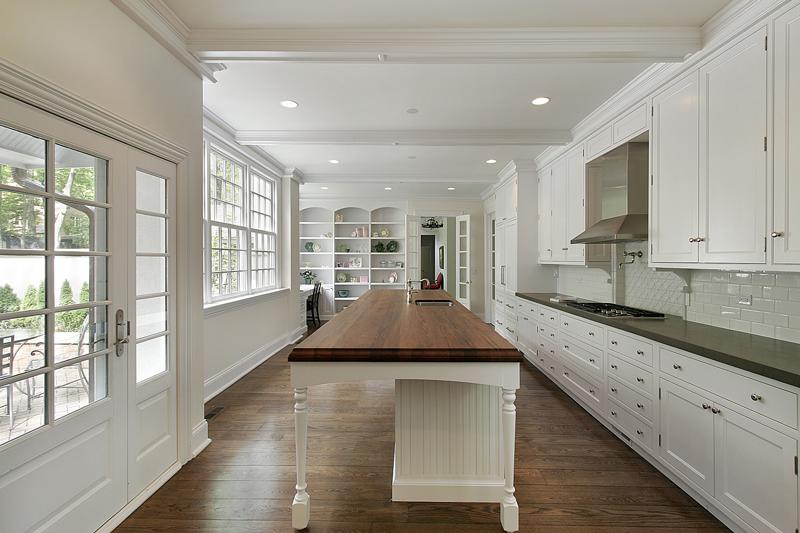 white-kitchen 2017 kitchen design trends