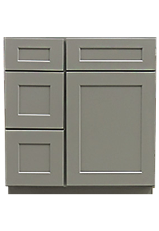 Grey shaker bathroom vanities