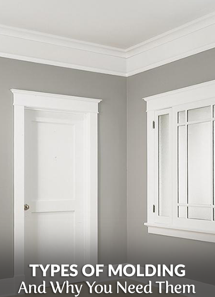 Types Of Molding And Why You Need Them