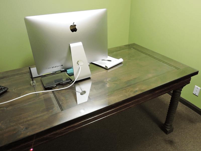Door Desk from Old Doors