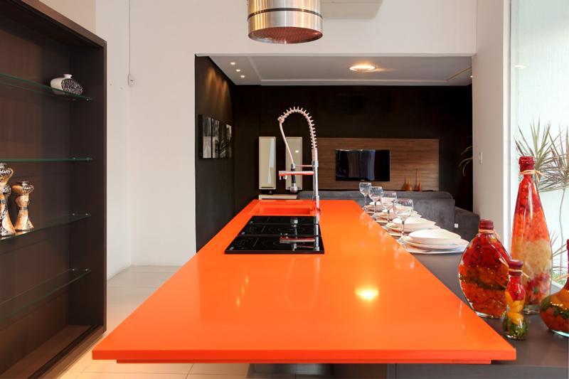 naranja cool Silestone Countertop Colors Louisville Cincinnati Newport
