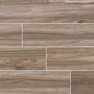 Wood Look Tile - Rental House Remodeling