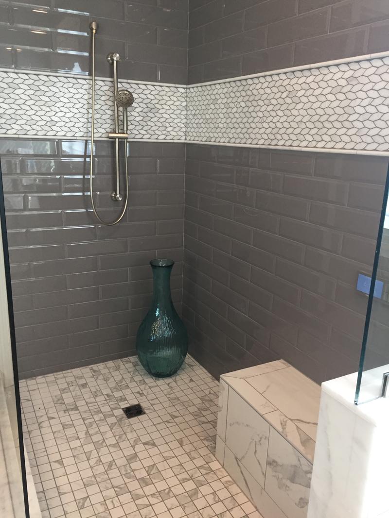 Large Format Subway tile homearama 2017