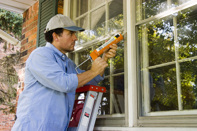 caulking-windows winter home maintenance