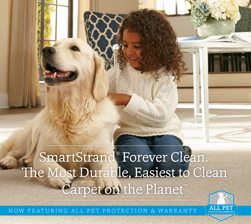 smartstrand carpet is durable