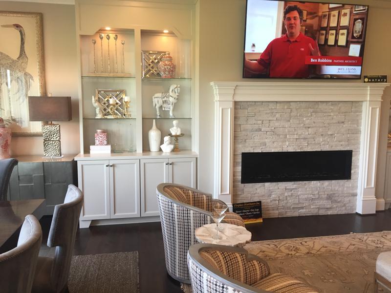 ledgestone fireplace home design trends