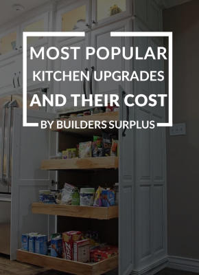 Most Popular Kitchen upgrades and their Cost