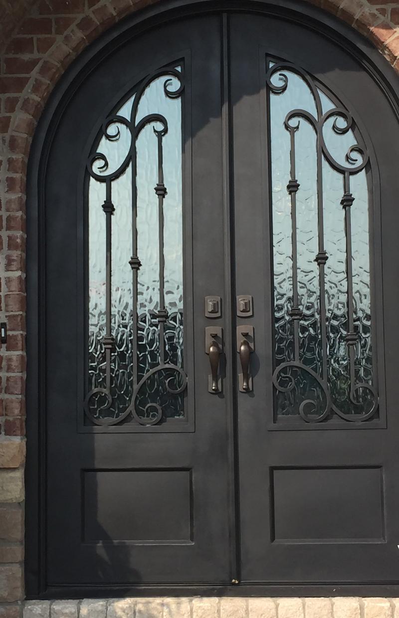 iron doors home design trends