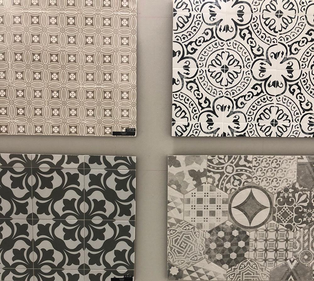 patterned tile 2018 remodeling trends