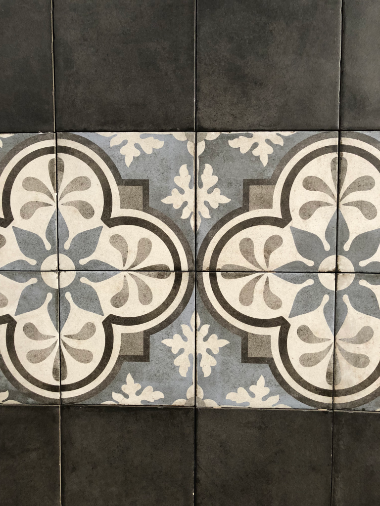 Patterned tile - top home trends